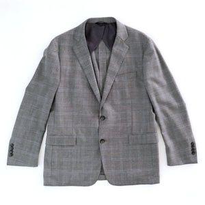 Brooks Brothers Regent Wool Plaid Blazer 42S